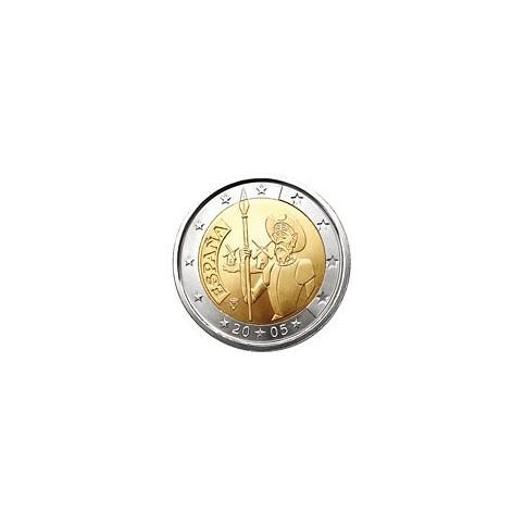 ESPAGNE 2005 - 2 EUROS COMMEMORATIVE