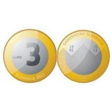 SLOVENIE 2011 - 3 EUROS