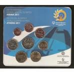 Grèce 2011 - Coffret euro BU