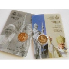SAINT MARIN 2011 - COIN CARD COMMEMORATIF
