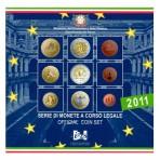 Italie 2011 - Coffret euro BU