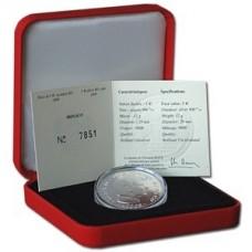 Piece 5 Euros en argent 2008