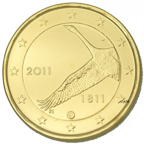 Finlande 2011 dorée à l'or fin 24 carats