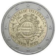 AUTRICHE 2012 - 10 ANS DE L'EURO