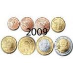 Autriche 2009 :  Série complète euro neuve