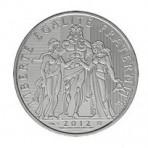 Hercule 2012 - 10 euro Argent