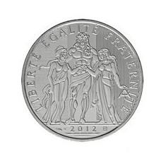 10 EUROS ARGENT HERCULE 2012