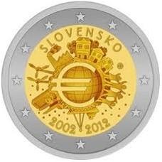 SLOVAQUIE 2012 - 10 ANS DE L'EURO