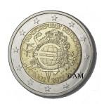 Allemagne 2012 -  2 euro commémorative 10 ans de l'euro