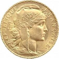 COQ MARIANNE - 1899/1914 - 20 FRANCS OR