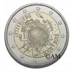 Luxembourg 2012 - 2 euro commémorative 10 ans de l'euro