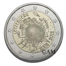 LUXEMBOURG 2012 - 10 ANS DE L'EURO