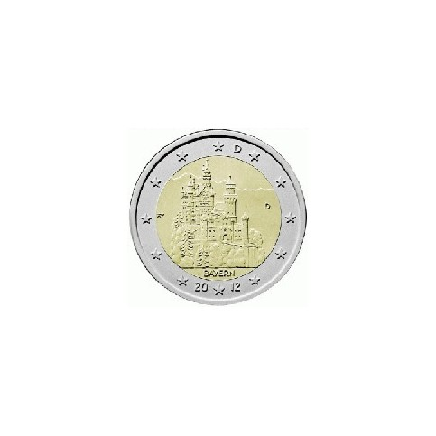 ALLEMAGNE 2012 - 2 EUROS COMMEMORATIVE