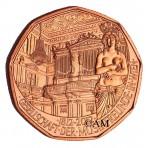 Autriche 2012 - 5 euro cuivre