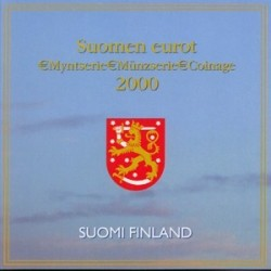 Finlande 2000 - Coffret euro BU