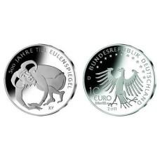 ALLEMAGNE 2011 -10 EUROS TILL