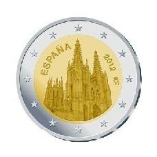 ESPAGNE 2012 - 2 EUROS COMMEMORATIVE