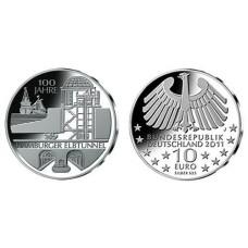 ALLEMAGNE 2011 - 10 EUROS HAMBURGER ELBTUNNEL