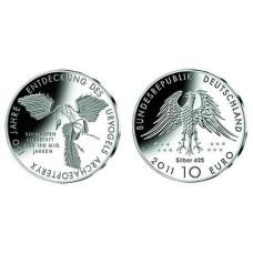 Allemagne 10 euros - 2011 oiseau Archaeopteryx
