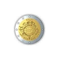 ESTONIE 2012 - 10 ANS DE L'EURO