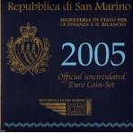Saint Marin 2005 - Coffret euro BU