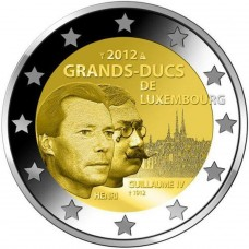 LUXEMBOURG 2012 - 2 EUROS COMMEMORATIVE