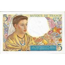 5 FRANCS - Berger et Femme Coiffee - 1943-1947 - Etat TTB