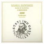 Slovénie 2008 - Coffret euro BU