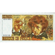 10 FRANCS - Berlioz - 1972-1978 - Etat SUP