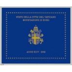 Vatican 2002 - Coffret euro BU Jean Paul II