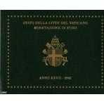 Vatican 2005 - Coffret euro BU Jean Paul II