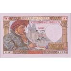 50 Francs - Jacques Coeur - 1940-1942 - Qualité courante