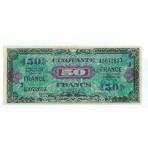 50 Francs - Drapeau Au verso - 1945 - Belle qualité