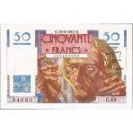50 Francs - Le Verrier et Neptune - 1946-1951 - Belle qualité