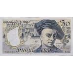 50 Francs Quentin de la Tour 1976/1992 - Belle qualité