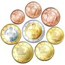 Chypre 2009 : série de 1 cent à 2 euros