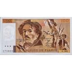 100 Francs Delacroix 1978/1995 - Qualité courante