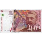 200 Francs - Eiffel - 1995-1997 - Belle qualité