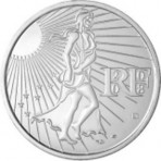 Semeuse 2008 - 15 euro Argent