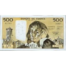 500 FRANCS - PASCAL - 1968-1993 - Etat TTB