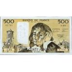 500 Francs - Pascal - 1968-1993 - Belle qualité