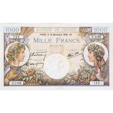 1000 FRANCS - commerce et industrie - 1940-1944 - Etat SUP