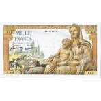 1000 Francs - Demeter - 1942-1943 - Qualité courante