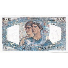 1000 FRANCS - Minerve et Hercule - 1945-1950 - Etat SUP