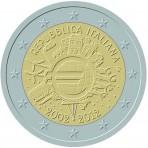 Italie 2012 - 2 euro commémorative 10 ans de l'euro