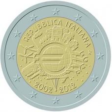 ITALIE 2012 - 10 ANS DE L'EURO
