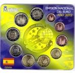 Espagne 2012 - Coffret euro BU