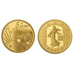 Semeuse 2011 - 5 euro Or