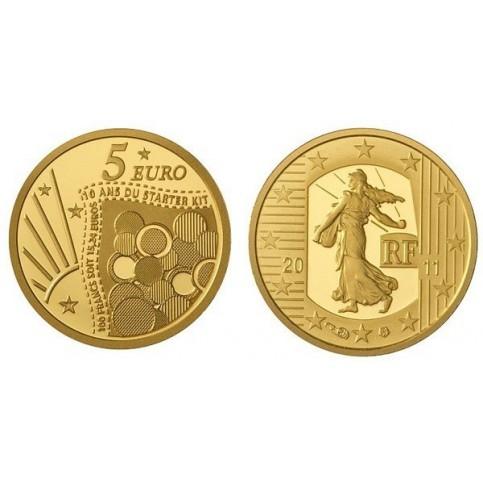 SEMEUSE 2011 - 5 EUROS OR