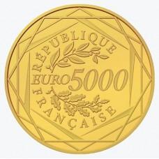 Hercule 2012 - 5000 euro Or